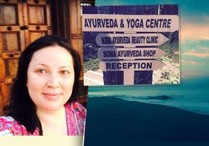 Ivana Christová vyrazila na předraženou hubnoucí dovolenou do Indie.