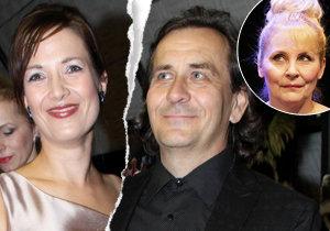 Rozvod Kostkové a Kracika předpověděla už před lety režisérova expartnerka Veronika Gajerová.