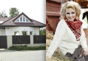 Vila Ivety Bartošové se prodala za 7 300 000 korun.
