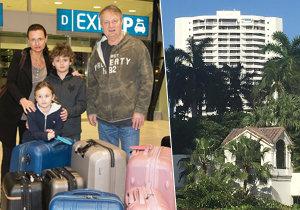 Manželé Jiří a Jana Adamcovi se stěhují z bytu v Miami na Floridě, který si přitom pořídili teprve loni!