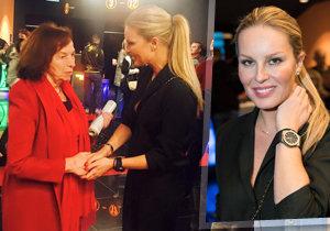 Návštěvníky slovenské premiéry filmu Dvojníci i Livii Klausovou ohromila Simona Krainová kabelkou a hodinkami v hodnotě nové Škody Superb Combi!