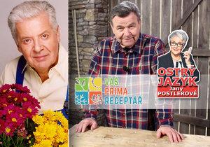 Své role se zhostil s nakažlivou radostí, říká Jana Postlerová o nástupci Přemka Podlahy Václavu Postráneckém.
