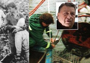 Kriminalista Josef Doucha vyšetřoval orlické vraždy a polapil také spartakiádního vraha.
