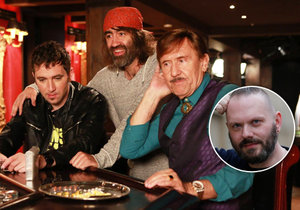 Bodyguardem Petra Nárožného (77) v komedii Dvojníci je reportér Blesku Ivan Hladík (40)!