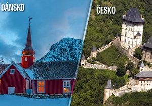 Dánsko předstihlo Česko o 26 příček.