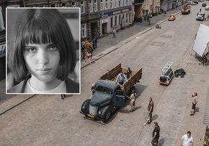 Filmová rekonstrukce bestiálního činu Olgy Hepnarové (†23) se neodehrála u nás, ale v Polsku!