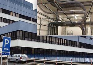 V nemocnici v Motole mají největší potrubní poštu ve střední Evropě.