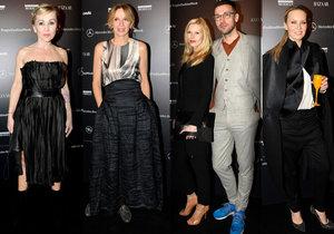 Hosté, kteří dorazili na Prague Fashion Week.