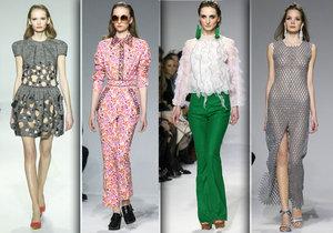 Jedna chodící kostra za druhou: Tak vypadaly přehlídky v rámci módní akce sezony Mercedes- Benz Prague Fashion Week.