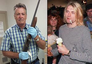 Policie vyšla na světlo s brokovnicí, která zabila Kurta Cobaina.