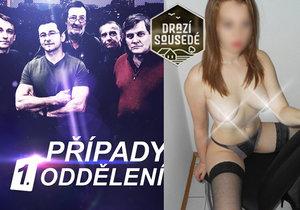 Případy 1. oddělení porazily seriál Drazí sousedé s prodejnou herečkou Lucií Šteflovou.