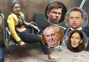 Zemanem otřásl bruselský masakr. Politici burcují Evropu k akci