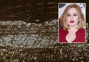 Adele se drsně pustila do teroristů.