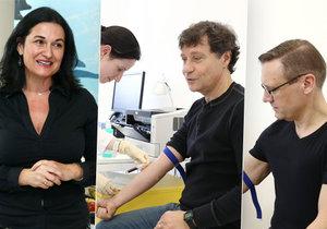 Mirka Čejková donutila Pavla Kříže a Davida Matáska k vyšetření prostaty.