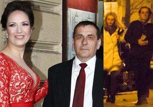 Po rozvodu s herečkou Terezou Kostkovou se Petr Kracik odstěhoval do Podolí, kde byl spatřen s neznámou blondýnkou.