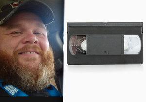 Američan byl zatčen za to, že nevrátil videokazetu.