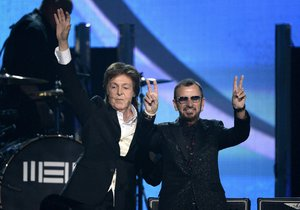 Poslední dva žijící Brouci - Paul McCartney a Ringo Starr