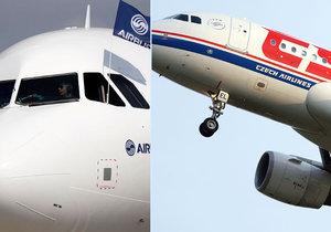 ČSA vymění svoje stará letadla za Airbusy