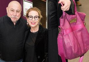 Wanda Hrycová vynesla kabelku za 70 tisíc, její otec Andy Hryc vyhlásil bankrot.