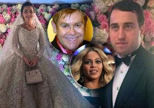 Hvězdy jako Elton John a Beyoncé zazpívají na soukromém koncertu pro synka oligarchy.