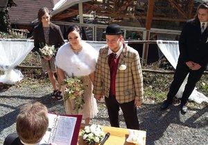 Svatba Roberta Papouška ze Šlapeto