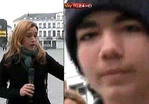 Evropská bašta islamistů Molenbeek: Útočníci kopali do novináře.
