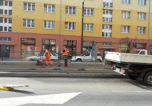 Tramvaje kvůli údržbě trati nepojedou mezi Nuslemi a Vršovicemi.