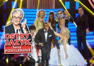 Nová show televize Nova Tvoje tvář má známý hlas nadchla diváky! Zabodovala také u jazykové lektorky Jany Postlerové?