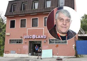 Král diskoték Ivan Jonák je 42 dní po smrti, a už se bude dražit jeho Discoland Sylvie!