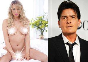 Charlie Sheen vyhrožoval své exsnoubence Brett Rossi smrtí.