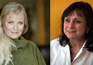 Chantal Poullain prodělala rakovinu prsu. S doktorkou smlouvala termíny operace.