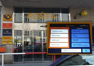 Na poště v Kafkově ulici testují chytré vyvolávací systémy.