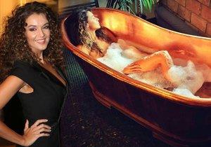 Iva si po Andělech dala koupel.