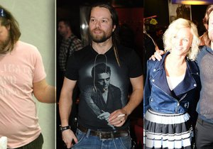 Richard Krajčo překvapil svou skvělou postavou v síťovaném tričku.