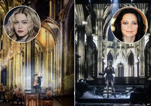 Lucie Bílá se opičí po Madonně.