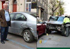 Večer na to koukal v televizi, ráno zjistil, že i jeho auto odneslo jízdu opilého policisty.