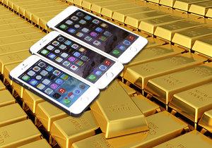 Necelou tunu zlata se podařilo Applu získat zpět ze starých mobilů a tabletů.