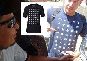 S tímhle tričkem řeknete, co potřebujete.