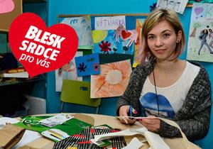 Hana Kochtíková (24) z organizace IQ Roma servis: Děti se k nám chodí učit!