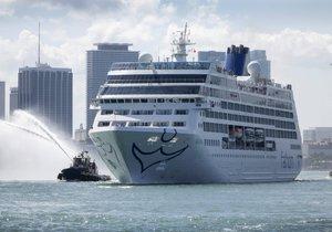 Z USA na Kubu vyrazila po půl století výletní loď.