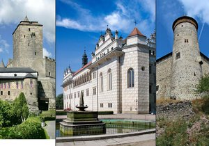 Nejkrásnější hrady a zámky Královéhradeckého a Pardubického kraje