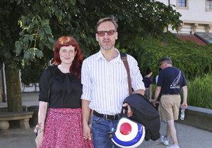 David Matásek s partnerkou