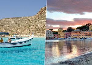 Nejkrásnější italské pláže