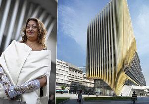 Světoznámá architektka Zaha Hadid