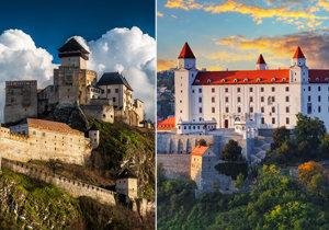 Nejkrásnější hrady a zámky Slovenska