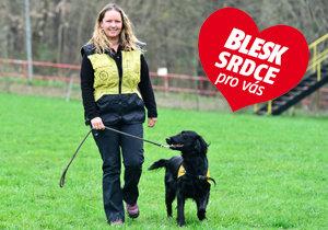 Trenérka Kateřina Kadlecová (29): Co dokáže asistenční pes? Klidně i svléknout rukavici