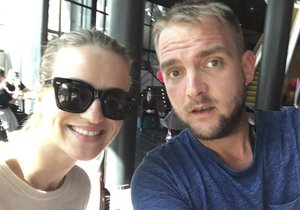 Libor je s Gabrielou Gunčíkovou ve Švédsku