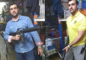 Hakim Nasiri je jedním ze zadržených afghánských teroristů. Spolu s kumpány plánovali teror v Evropě.
