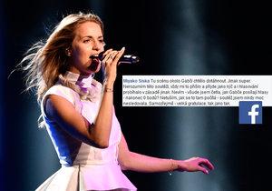 Diváci mají jasno v tom, proč Eurovizi nevyhrála Gabriela Gunčíková.