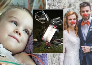 Peťa přišel při tragické nehodě o tátu a sám skončil s vážnými zraněními. Gabriela Soukalová a Petr Koukal se pro něj snaží sehnat peníze.